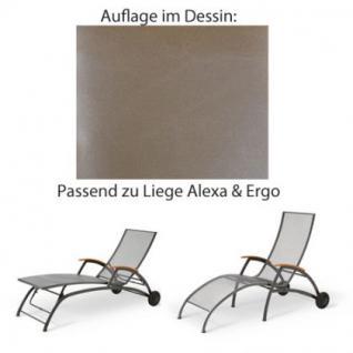 Auflage für Liege Alexa oder Ergo von Royal Garden im Dessin 314 100% Polyacryl, Lichtbeständigkeit 7-8 von 8