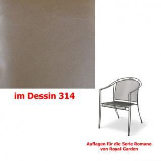 Auflagen für Serie Romano von Royal Garden, verschiedenen Größen in der Auswahl wählbar Dessin 314 100% Polyacryl, Lichtbeständigkeit 7-8 von 8 - Vorschau 1