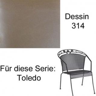 Auflagen für Serie Toledo von Kettler in der Auswahl unterschiedliche Größen zu wählen im Dessin 314 100% Polyacryl, Lichtbeständigkeit 7-8 von 8