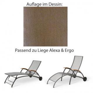 Auflage für Liege Alexa oder Ergo von Royal Garden im Dessin 315 100% Polyacryl, Lichtbeständigkeit 7-8 von 8