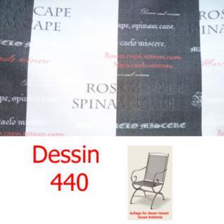 Auflage zu Sessel Ambiente Dessin 3440 100% Polyacryl Lichtbeständigkeit 7-8 von 8 - Vorschau 1