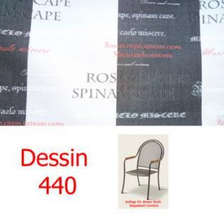 Auflage zu Sessel Comfort Dessin 440 100% Polyacryl Lichtbeständigkeit 7-8 von 8
