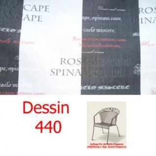 Auflage für Serie Elegance im Dessin 440 verschiedene Größen in der Auswahl wählbar, 100% Polyacryl Lichtbeständigkeit 7-8 von 8