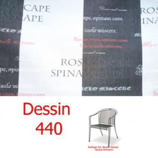 Auflagen für Serie Romano von Royal Garden, verschiedenen Größen in der Auswahl wählbar Dessin 440 100% Polyacryl Lichtbeständigkeit 7-8 von 8