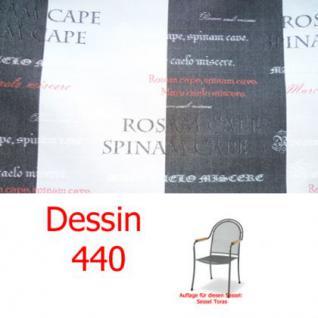 Auflage zu Sessel Toras Des. 440 100% Polyacryl Lichtbeständigkeit 7-8 von 8