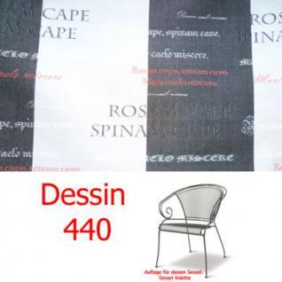 Auflage für Voletta im Dessin 440 100% Polyacryl Lichtbeständigkeit 7-8 von 8