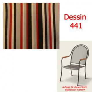 Auflage zu Sessel Comfort Dessin 441 100% Polyacryl Lichtbeständigkeit 7-8 von 8 - Vorschau 2