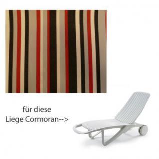 Auflage für Liege Cormoran von Allibert Evolutiv im Des. 441 100% Polyacryl Lichtbeständigkeit 7-8 von 8