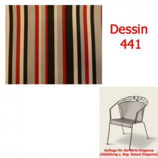 Auflage für Serie Elegance im Dessin 441 verschiedene Größen in der Auswahl wählbar, 100% Polyacryl, Lichtbeständigkeit 7-8 von 8