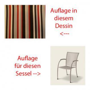 Auflage für Sessel Pilo von Royal Garden MWH im Des. 3441 100% Polyacryl Lichtbeständigkeit 7-8 von 8 - Vorschau 1