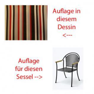 Auflage für Sessel Venezia Des.441 100% Polyacryl, Lichtbeständigkeit 7-8 von 8 - Vorschau 1