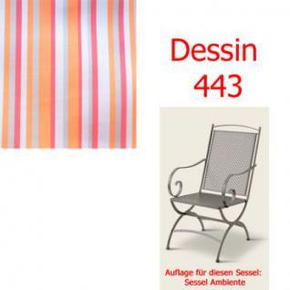 Auflage zu Sessel Ambiente Dessin 443 100% Polyacryl, Lichtbeständigkeit 7-8 von 8 - Vorschau 1
