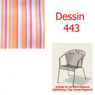 Auflage für Serie Elegance im Dessin 443 verschiedene Größen in der Auswahl wählbar, 100% Polyacryl, Lichtbeständigkeit 7-8 von 8
