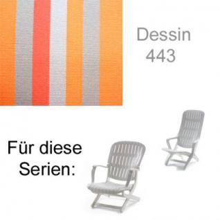 Auflage für Sessel Estanza und Tangor von Allibert Evolutiv im Des.443 100% Polyacryl, Lichtbeständigkeit 7-8 von 8