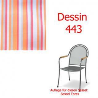 Auflage zu Sessel Toras Des. 443 100% Polyacryl, Lichtbeständigkeit 7-8 von 8