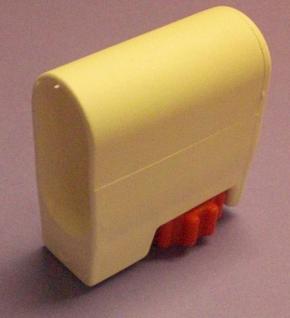 Bodengleiterset 35x20mm weiss - Vorschau 2