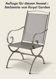 Auflage zu Sessel Ambiente Dessin 310 100% Polyacryl, Lichtbeständigkeit 7-8 von 8 - Vorschau 2