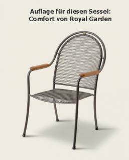 Auflage zu Sessel Comfort Dessin 310 100% Polyacryl, Lichtbeständigkeit 7-8 von 8 - Vorschau 2