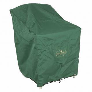 Abdeckhaube für Holzessel 100% Polyester in grün