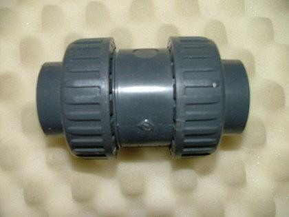 PVC-Rückschlagventil 2x Innengewinde
