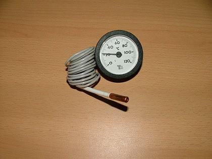 Rundes Kapillarthermometer