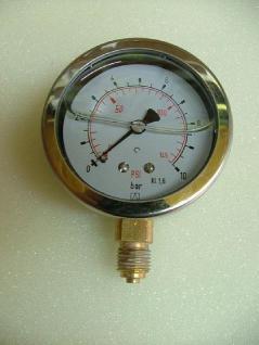 Glyzerin - Manometer Radial + Zubehör - Vorschau 1