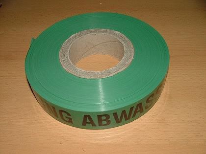 Folienwarnband / Absperrband / Trassen-Warnband - Vorschau 2