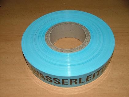 Folienwarnband / Absperrband / Trassen-Warnband - Vorschau 3