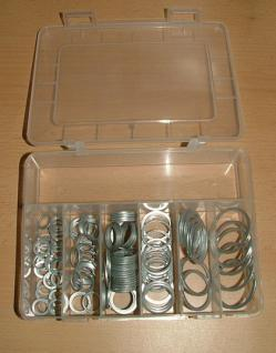 Dichtungsringe oder Sortiment-Aluminiumdichtringe