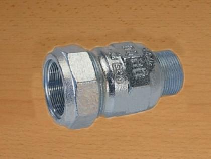 GEBO Verschraubung mit Aussengewinde / Stahlrohr