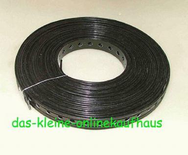 Lochband - Stahl verzinkt oder Kunststoffummantelt - Vorschau 2