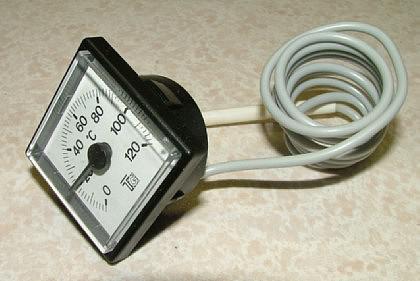Quatratisches Kapillarthermometer 42 x 42 - Vorschau