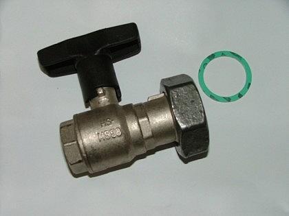 Pumpenkugelhahn mit ISO Griff + Schwerkraftbremse - Vorschau