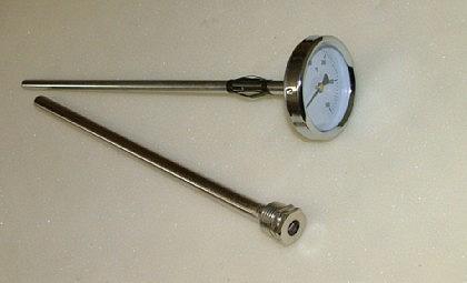 Kaminthermometer / Räucherofenthermometer - Vorschau