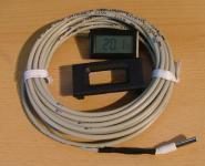 Digitalthermometer 3m oder 6m Sonde