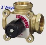 Muffenmischer / Stellmotoren / Zubehör