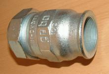 GEBO Verschraubung mit Innengewinde / Stahlrohr