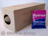 Ratron® Granulat Power-Packs 1 x 40 g & 1 Rattenbox Karton
