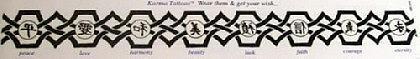 Abziehbild,Tattoo-Band 7 - Vorschau