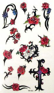 Abziehbild,Motiv Tattoo 43