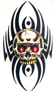 Abziehbild, Motiv Tattoo 46
