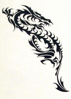Abziehbild,Motiv Tattoo 55