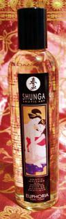 Shunga-Massageöl Euphoria ,duftender Blumenstrauß - Vorschau