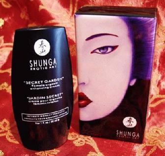 Shunga,Secret Garden - Orgasmus-Creme für Frauen