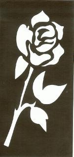 Henna Bodypainting Schablone , Mehndi Motiv 109