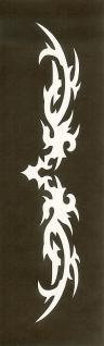 Henna Bodypainting Schablone , Mehndi Motiv 125
