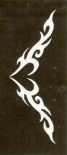 Henna Bodypainting Schablone , Mehndi Motiv 102