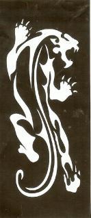 Henna Bodypainting Schablone , Mehndi Motiv 103