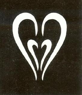 Henna Bodypainting Schablone , Mehndi Motiv 148
