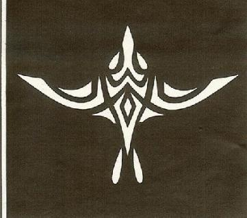 Henna Bodypainting Schablone , Mehndi Motiv 155